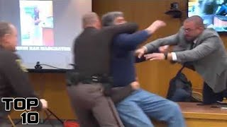 Download Top 10 Insane Courtroom Freak Outs After Sentencing - Part 2 Video