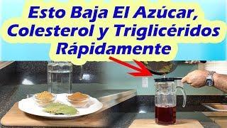 Download Esto Baja El Azúcar, Colesterol y Triglicéridos Rápidamente COMO CONTROLAR LA DIABETES Video
