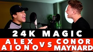 Download Bruno Mars - 24K Magic (SING OFF vs. Alex Aiono) Video