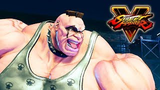 Download Street Fighter 5 - Abigail Reveal Trailer @ 1080p (60ᶠᵖˢ) HD ✔ Video