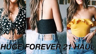 Download HUGE FOREVER 21 TRY ON HAUL 2018 Video