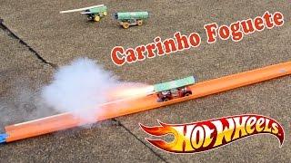 Download Hot Wheels Carrinho de Brinquedo Foguete - Rocket Video