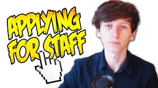Download APPLYING FOR STAFF ON MY MINECRAFT SERVER Video