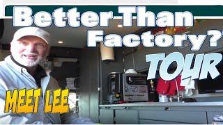Download Lee's Incredible Van Build. *FULL TOUR* Video