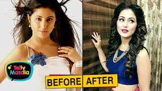 Download Top TV Actresses Before And After PLASTIC Surgery | Mouni Roy, Hina Khan and Others Video
