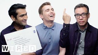 Download Dave Franco, Kumail Nanjiani and Fred Armisen Answer the Web's Most Searched Questions | WIRED Video
