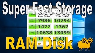 Download How To Create a RamDisk - Super Fast Storage (SoftPerfect) Video