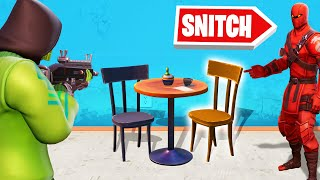 Download SNITCH The PROP in FORTNITE HIDE AND SEEK! Video