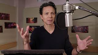 Download Benjamin Bratt's Voice Recording for Pixar's Coco Video