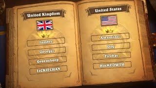 Download United Kingdom vs United States- Group B - Match 2 - Hearthstone Global Games Video