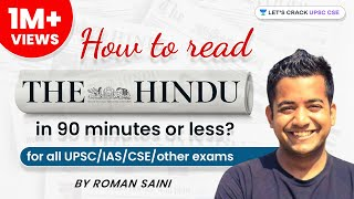 Download Roman Saini - How To Read The Hindu in 90 minutes or less? (for all UPSC/IAS/CSE/other exams) Video