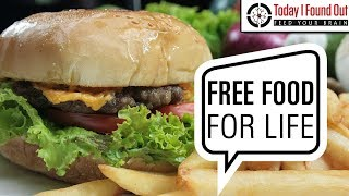 Download Does McDonald's or Burger King Really Hand Out Cards Granting You Free Food For Life? Video