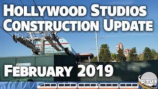 Download Disney's Hollywood Studios - Construction Update - February 2019   Walt Disney World Video
