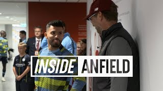 Download Inside Anfield: Liverpool v Man City | Featuring Oxlade-Chamberlain, a familiar face & more Video