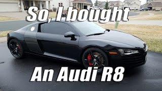 Download So, I bought an Audi R8 Video