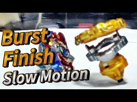 BeybladeBurst Burst Finish Slow Motion movie