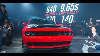 Download Stage and Launch | Challenger SRT® Demon | Dodge Video