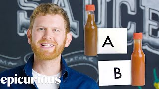 Download Hot Sauce Expert Guesses Cheap vs Expensive Hot Sauce | Price Points | Epicurious Video