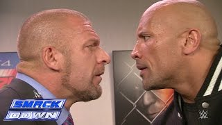 Download The Rock and Triple H take an aggressive stroll down memory lane: SmackDown, Oct. 10, 2014 Video