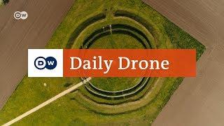 Download #DailyDrone: Goseck Circle | DW English Video