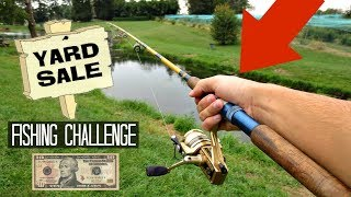 Download $10 Yard Sale Fishing Challenge!! (Crazy Find!) Video