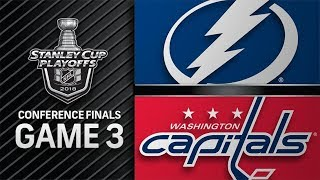 Download Tampa Bay Lightning vs Washington Capitals – May. 15, 2018 | Game 3 | Stanley Cup 2018. Обзор Video