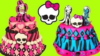 Download MONSTER HIGH Play Doh Cake Compilation Show! Toy Surprises and Blind Bags! Video