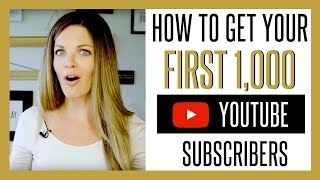 Download How to Get Your First 1000 YouTube Subscribers FAST 2017 Video
