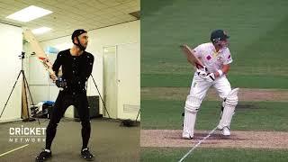Download Glenn Maxwell imitating cricket legends Video