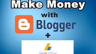 Download How to Make Money With Blogger and Adsense For Beginners (In Hindi) Video