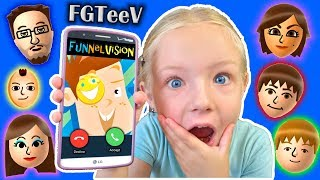 Download Calling FGTeeV - FUNnel Vision Family *OMG* They Answer!! Roblox Game (Skit) Video