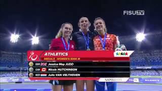 Download Nicole Hutchinson offre au Canada une médaille d'argent au 5000m Video