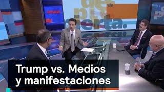 Download Trump contra los medios y manifestaciones, un análisis - Despierta con Loret Video