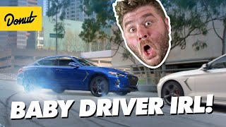 Download Baby Driver Car Chase In Real Life! | How to Stunt FINALE Video