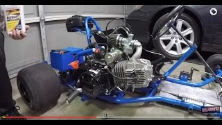 Download 125cc GO KART ENGINE SWAP AND TEST RIDE Video