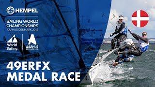 Download Full 49erFX Medal Race | Aarhus 2018 Video