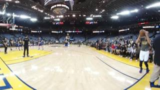Download Stephen Curry Pre-Game 3-Pointers in 360 Degrees!!! Video