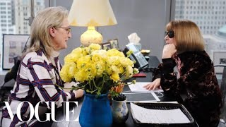 Download Meryl Streep Meets Anna Wintour at Vogue Video