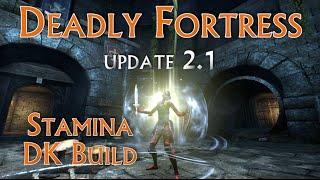 Download ″Deadly Fortress″ Dragonknight PVP/PVE Build Heavy Stam Tank/DPS for Elder Scrolls Online Update 7 Video
