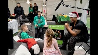 Download The Rock Makes Wishes Come True on Set of Hobbs & Shaw Video