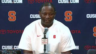 Download Dino Babers vs UNC Post Game Video