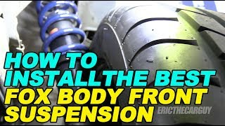 Download How To Install the Best Fox Body Front Suspension Video