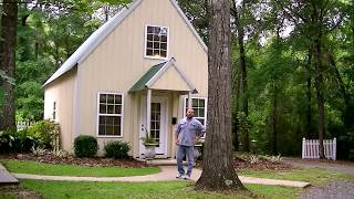 Download Tiny house tour. Small home grand living. Room by room. Great design. 800 sq ft. plans available. Video