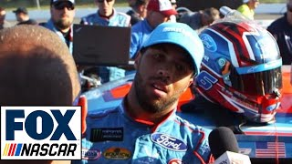Download Bubba Wallace Passes Out After Cup Debut | NASCAR RACE HUB Video