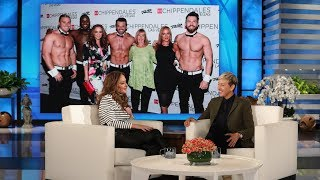 Download Leah Remini's Mom Got a Little Too Handsy at Chippendales Video