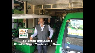 Download EV Small Business : Kinetic Green Dealership, Pune Video