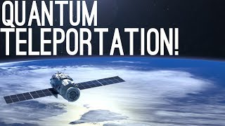 Download Quantum Teleportation From Space Achieved by China! Video