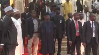Download VP Yemi Osinbanjo Receives King Of Morocco Mohammed Vi Video