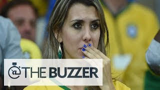 Download Saddest Brazilian Fans During Ugly Loss To Germany - @TheBuzzeronFOX Video