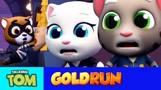 Download Talking Tom Gold Run - The Hammer of Justice (Official Trailer) Video
